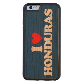 I LOVE HONDURAS CARVED CHERRY iPhone 6 BUMPER CASE
