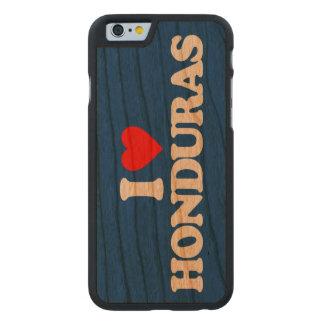 I LOVE HONDURAS CARVED CHERRY iPhone 6 CASE
