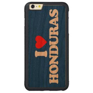 I LOVE HONDURAS CARVED CHERRY iPhone 6 PLUS BUMPER CASE