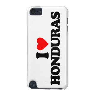 I LOVE HONDURAS iPod TOUCH 5G COVER
