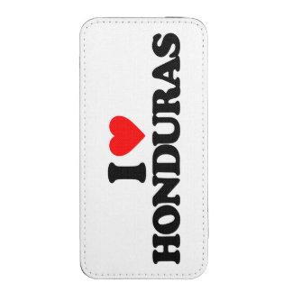 I LOVE HONDURAS iPhone 5 POUCH