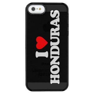 I LOVE HONDURAS CLEAR iPhone SE/5/5s CASE