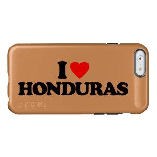 I LOVE HONDURAS INCIPIO FEATHER SHINE iPhone 6 CASE