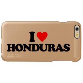 I LOVE HONDURAS INCIPIO FEATHER SHINE iPhone 6 PLUS CASE
