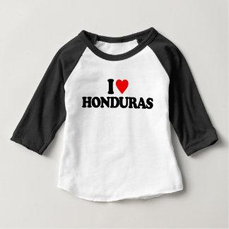 I LOVE HONDURAS INFANT T-SHIRT