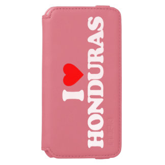 I LOVE HONDURAS iPhone 6/6S WALLET CASE