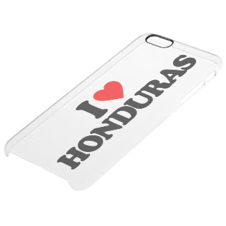 I LOVE HONDURAS UNCOMMON CLEARLY™ DEFLECTOR iPhone 6 PLUS CASE