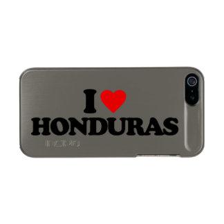 I LOVE HONDURAS INCIPIO FEATHER® SHINE iPhone 5 CASE