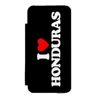 I LOVE HONDURAS iPhone SE/5/5s WALLET CASE