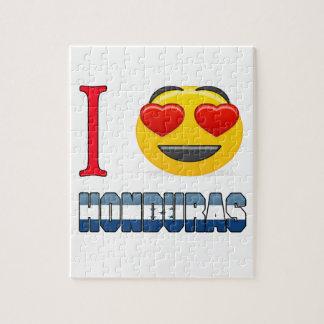 I love HONDURAS. Jigsaw Puzzles