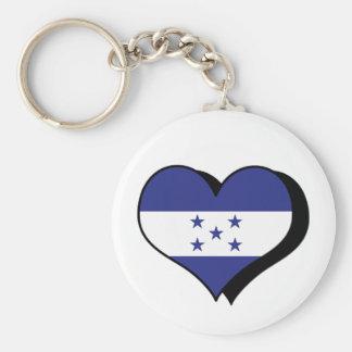I Love Honduras Keychain
