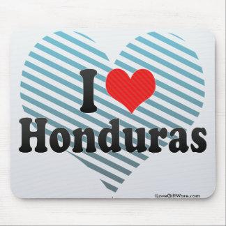 I Love Honduras Mouse Pad