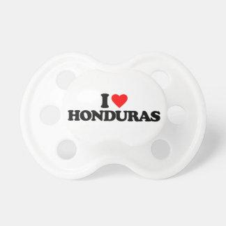 I LOVE HONDURAS PACIFIER