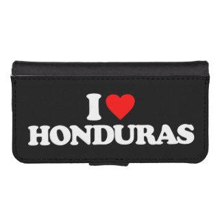 I LOVE HONDURAS iPhone 5 WALLET
