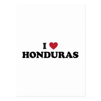 I Love Honduras Post Card