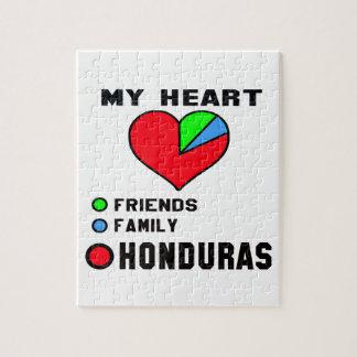 I love Honduras. Puzzles
