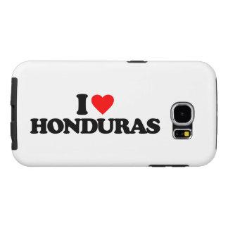 I LOVE HONDURAS SAMSUNG GALAXY S6 CASE