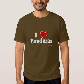 I Love Honduras T Shirt