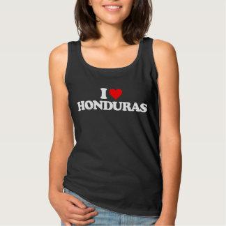 I LOVE HONDURAS TANK TOP