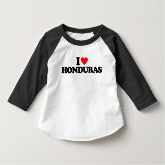 I LOVE HONDURAS TEE SHIRT