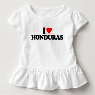 I LOVE HONDURAS TODDLER T-SHIRT