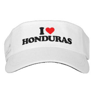 I LOVE HONDURAS VISOR