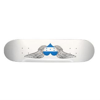 I Love Honduras -wings Skate Board