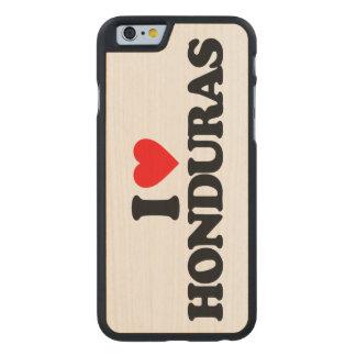 I LOVE HONDURAS CARVED® MAPLE iPhone 6 CASE