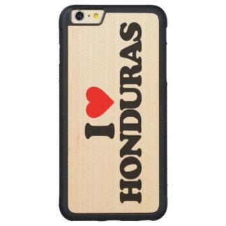 I LOVE HONDURAS CARVED® MAPLE iPhone 6 PLUS BUMPER CASE