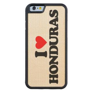 I LOVE HONDURAS CARVED® MAPLE iPhone 6 BUMPER CASE