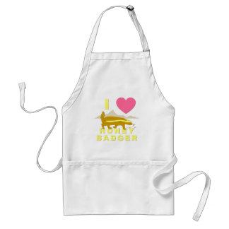 I love honey badger adult apron