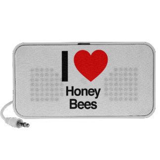 i love honey bees travelling speaker