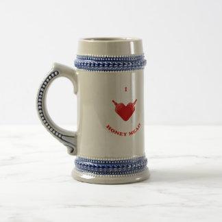 I Love Honey Mead Mugs