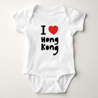 I love Hong Kong Baby Bodysuit