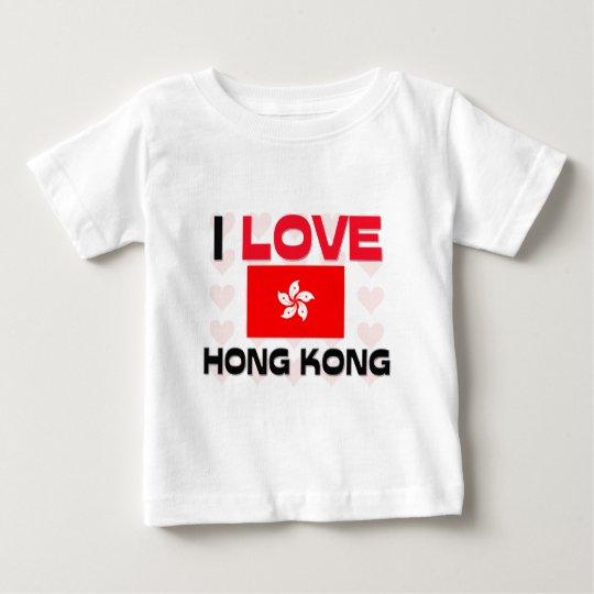 I Love Hong Kong Baby T-Shirt