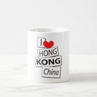 I Love Hong Kong China Coffee Mug