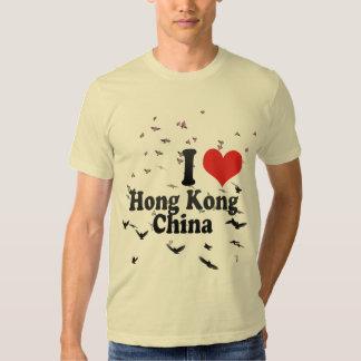 I Love Hong Kong+China T-shirt