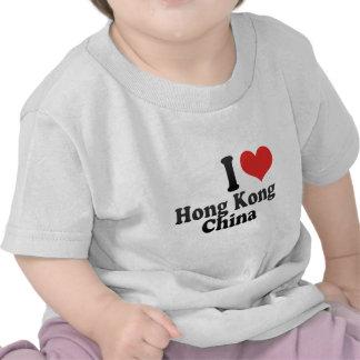 I Love Hong Kong+China T Shirts