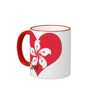 I love Hong Kong Ringer Mug