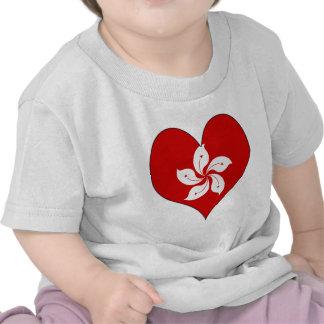 I Love Hong Kong T Shirts