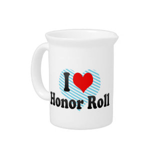 I love Honor Roll Drink Pitcher