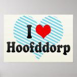 I Love Hoofddorp, Netherlands Poster