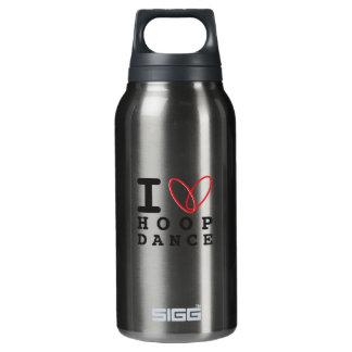 I love hoop dance waterbottle insulated water bottle