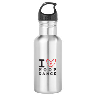 I love hoop dance waterbottle water bottle