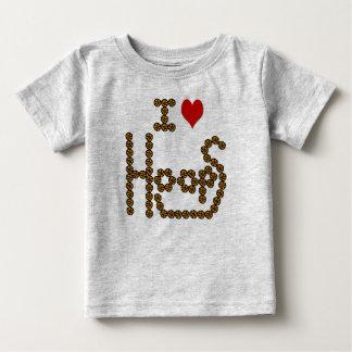 I love hoops - Basketball T-shirt