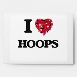 I Love Hoops Envelope