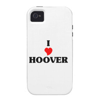 I love Hoover iPhone 4/4S Cover