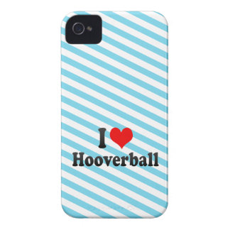 I love Hooverball iPhone 4 Case-Mate Cases