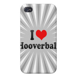 I love Hooverball iPhone 4/4S Covers
