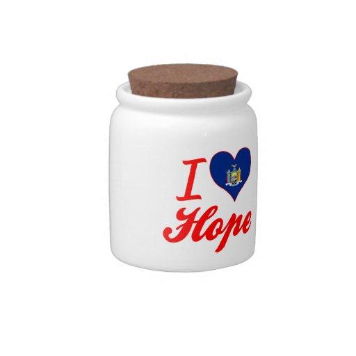 I Love Hope, New York Candy Dish